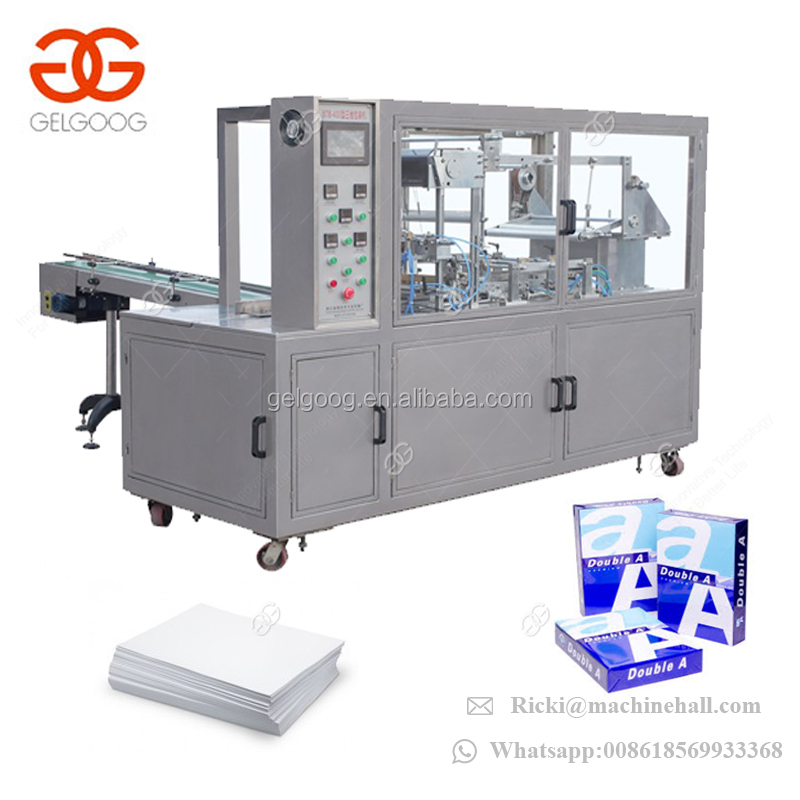 Automatic Copy Paper Wrapping Packaging Machine A4 Paper Packing Machine