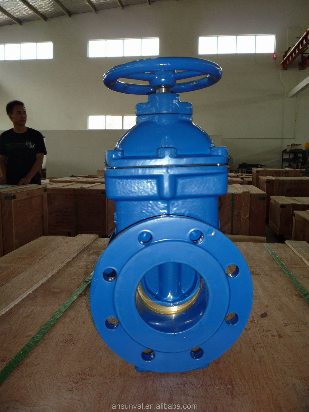 MEIJI brand gate valve metal seated DIN3352 F4