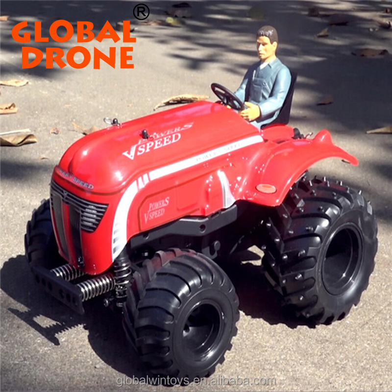 wholesale super cool kids toys 1:10 4ch rc excavator radio control rc tractor trailer big trucks for sale