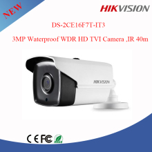 hikvision video surveillance 3MP cctv camera DS-2CE16F7T-IT3 WDR IP66 and EXIR Bullet camera
