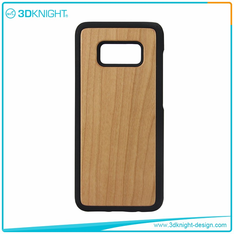 Real cherry Wood for samsung s8 case, phone case for samsung galaxy s8