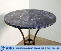 All size available precious agates artificial quartz blue stone table top