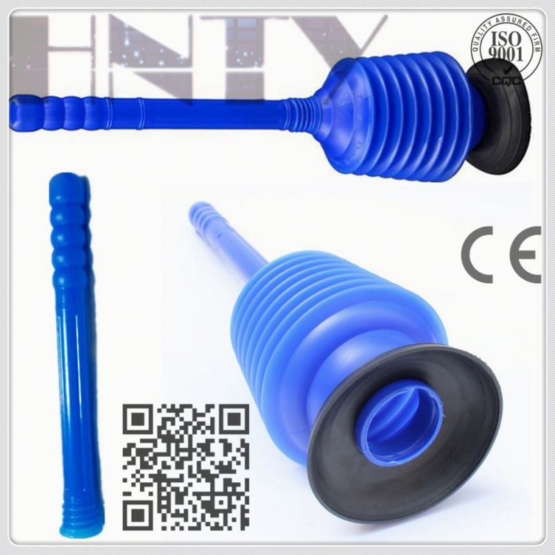 Customized Rubber Toilet Plunger With Holder Manufacturers