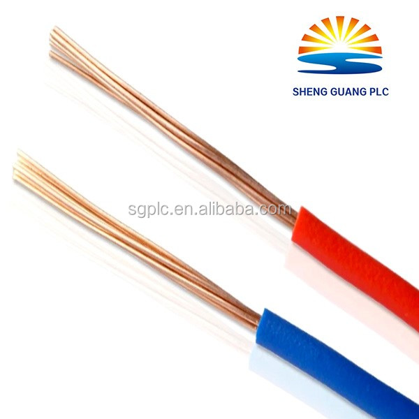 quality assured Best price PVC flexible house wiring electrical cable twin and earth flat cable and wire