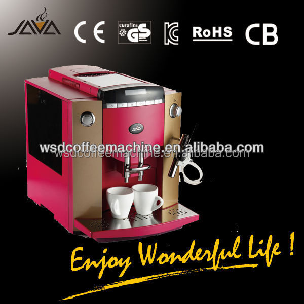 2015 Hot Sale Cappuccino Coffee And Espresso Machine for hotel,restaurant