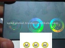 Hologram for plastic cards,pvc cards used for id, corporate,royalty,events