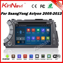 Kirinavi WC-SY7020 android 5.1 car stereo for ssangyong actyon kyron 2005 - 2013 car dvd quad core