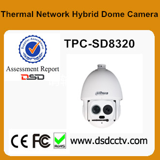 2017 New Dahua Thermal High Speed Dome Camera TPC-SD8320 Support Fire detect&alarm