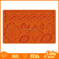 3D Candy Fondant Cake Decorating Silicone Molds