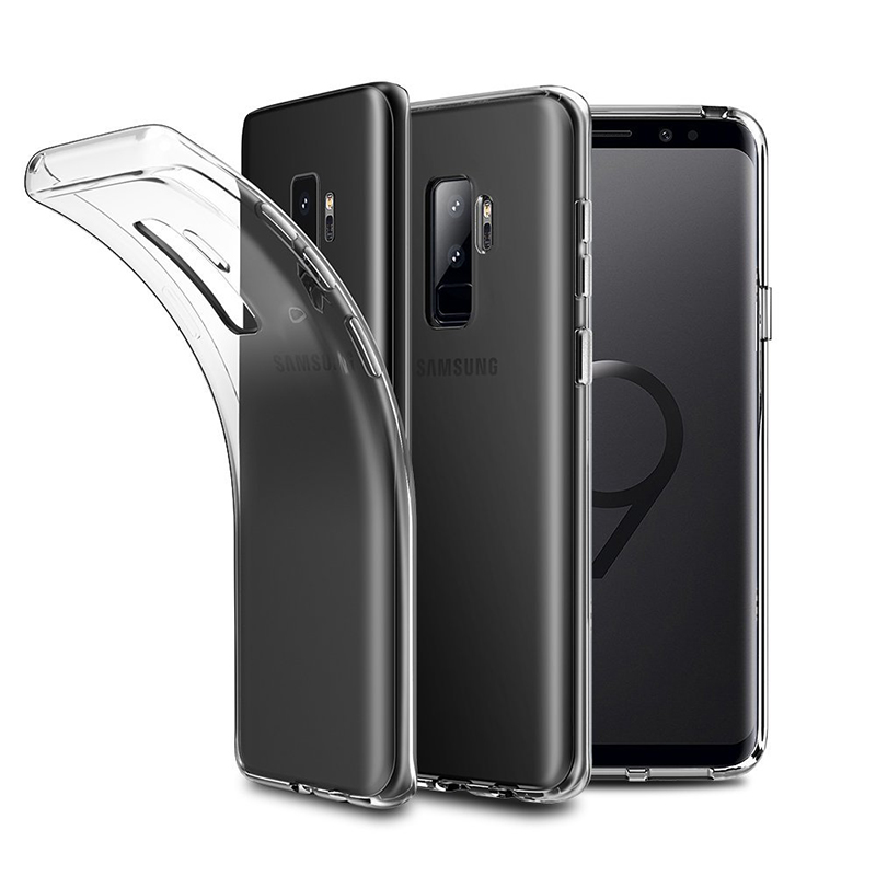 Mobile Phone Ultra Slim Transparent Soft Clear TPU Case For Samsung Galaxy S9 Plus Silicone Cover