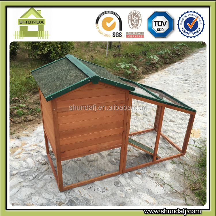 SDR024 Cheap Rabbit Cage Outdoor wooden rabbit house