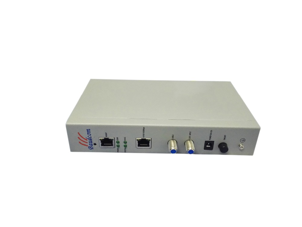 HomePlug solution EOC master with 1RF input and 1 Com output