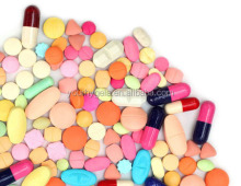 Colorful tablet coating powder for healthcare products coating