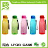 Food Grade 500ml colored Tritan Plastic Soda water bottles with string