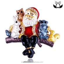 2016 New Arrival Wholesales Product Accessories Santa Claus Brooch
