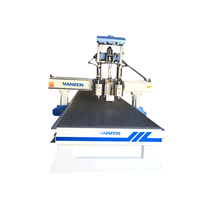 Cheap rotary carving 1300*2500mm wood cnc router with high quality