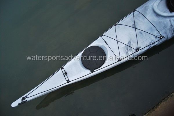 New design Single seat LLDPE wholesale china sea kayak