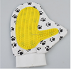 Wholesale Pet Shower Tools Palm Shaped Hair Brush Rubber Dog Bath Brush
