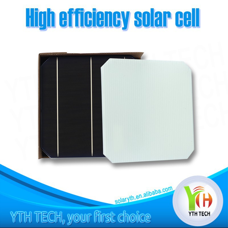 Cheap 156*156mm 3BB/2BB monocrystalline solar cell made in china for sale