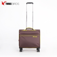 4 spinner wheeled size trolley suitcase spinner boarding bag suitcase luggage for children