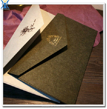 China Alibaba new products pearl paper gusset envelopes with logo printing