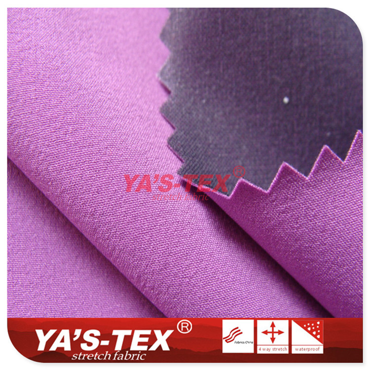 Three-layer composite soft shell fabric, 70D nylon four-way elastic thin shell, waterproof Jackets