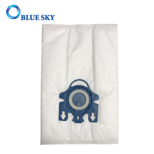 White Non-woven Synthetic Fiber Dust Filter Bag for Miele GN Vacuum Cleaner