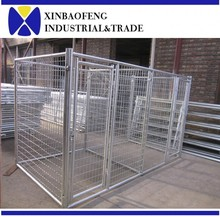 Stainless steel large dog cage dog kennel wholesale