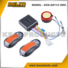 Anti-theft Universal Motorcycle Alarm System Alarmas Para Motors Orange Remote Alarm Lock KSS-AR112 ORG