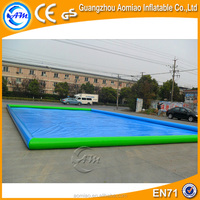 2016 largest inflatable rectangular pool, inflatable pool square