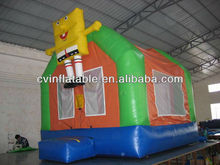 Inflatable body bouncer/inflatable bouncer houses for party