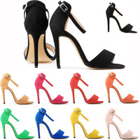 Nude color 120 mm red bottom high heels open toe shoes woman black open toe platform Patent Leather party shoes thin heels pumps