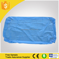 Disposable examination couch bed cover