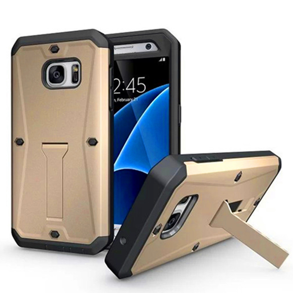 3 in 1 Waterproof Hybrid Armor Military Tank Hard Plastic Case for Samsung Galaxy S7 Edge
