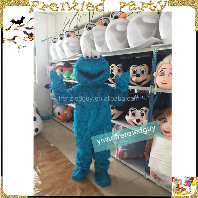 wholesale cheap cookie monster mascot costume FGC-0009