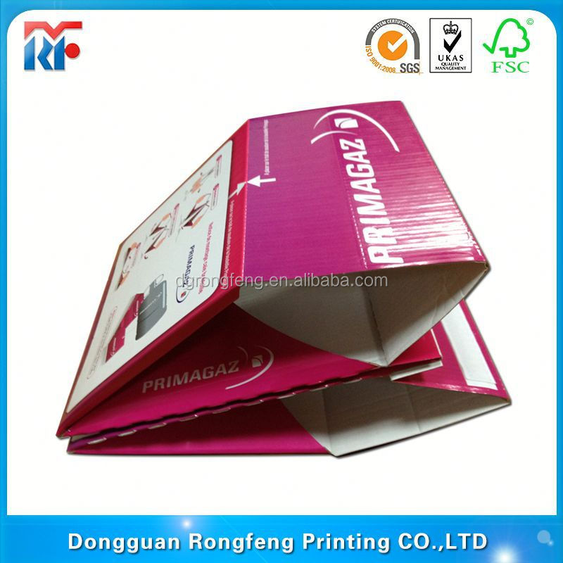 decorative tissue paper covered box
