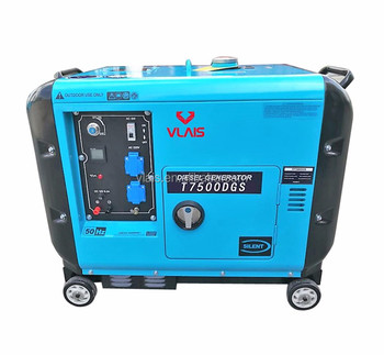 7.5kva good price high quality made in china diesel silent  generator