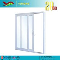 YH Wholesale best price grill design commercial sound insulation office sliding window