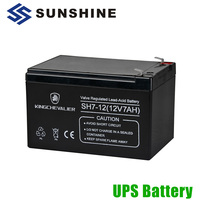 3 Years Design Life High Rate Discharge Backup 12V 7Ah UPS Battery