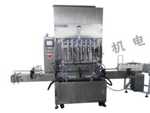 XBGZJ-6200 Automatic Shower Gel Bottle Filling Capping Machine