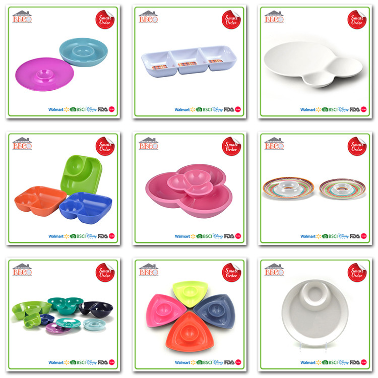 melamine Chip and Dip Tray
