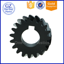 high hardness nylon helical gear factory direct sale PA6 spur gear