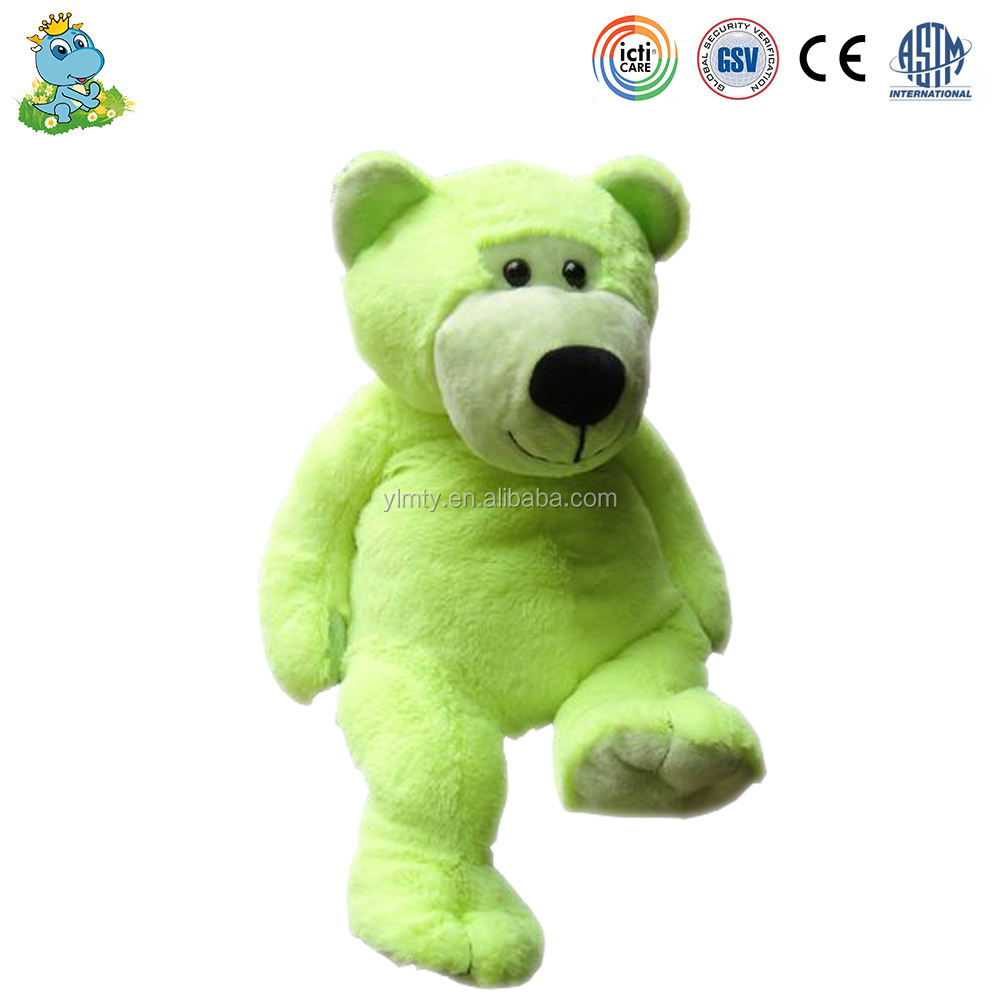 Wholesale cheap Brithday gift cartoon characters Green bear Toys