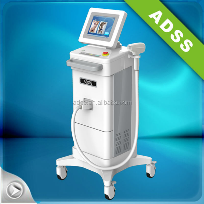 ADSS CE approved New Developed with 2000 W Power Source Mixed Wavelength Diode Laser for Hair Removal machine