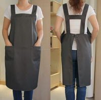 Polyester chefs apron with pockets