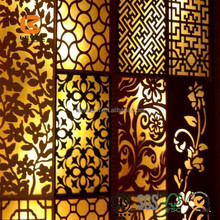 Decorative Carved MDF Grill Wall Panel For Interior Decoration