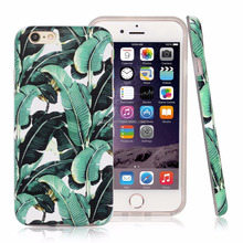 Mobile phone accessories, Banana Leaves Case For iphone 6 case, For iphone 6 case cover