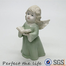 Ceramic Little angel wing decoration statue