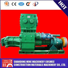 Advanced technology VP50 auto clay brick machine factory,clay green bricks vacuum extruder
