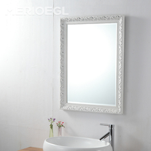 Wall mounted wooden frame Bathroom Mirror, Wall Mirrors Decorative Cheap